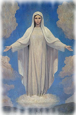 Our Lady Queen of Peace pray for us and protect us always